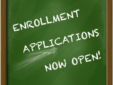 Accepting Enrollment Applications for 2020/21 School Year