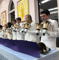 """Bell Choir at the """"I AM"""" Temple"""