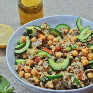 Delicious Vegan Quinoa Salad