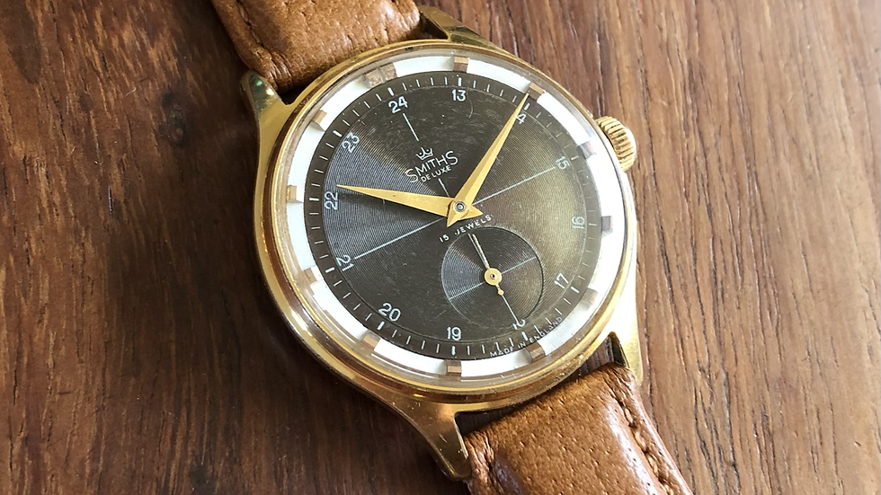 Smiths Deluxe A420 1957 'Engineers' Watch