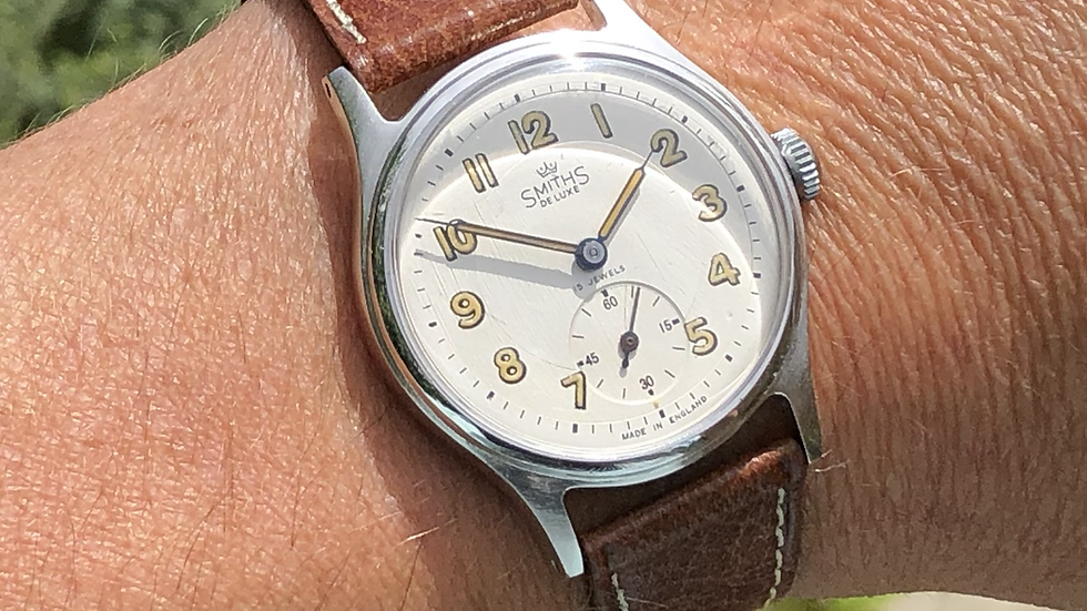 Smiths Deluxe A404 1954 Watch