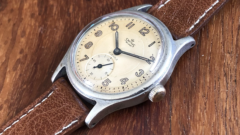 Smiths Deluxe A404 1953 Watch
