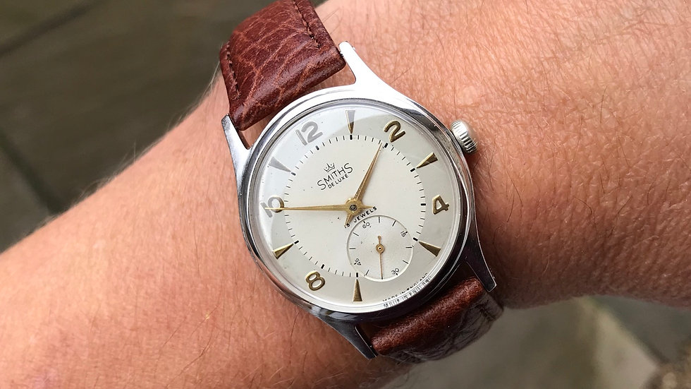 Smiths Deluxe A408 1954 Everest Range Watch Serviced