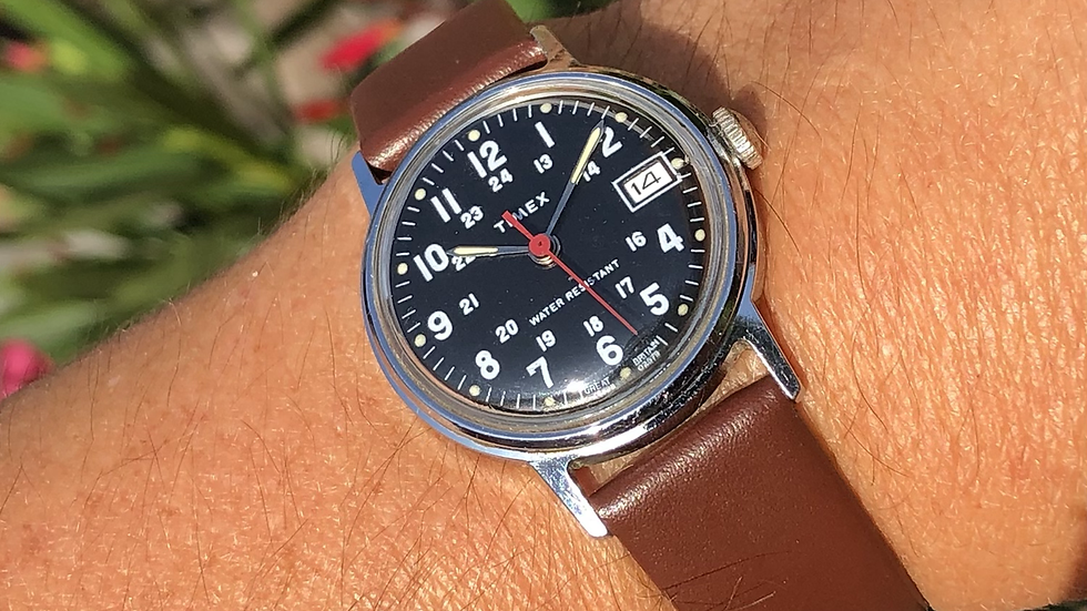 Timex 1979 Military Style Watch