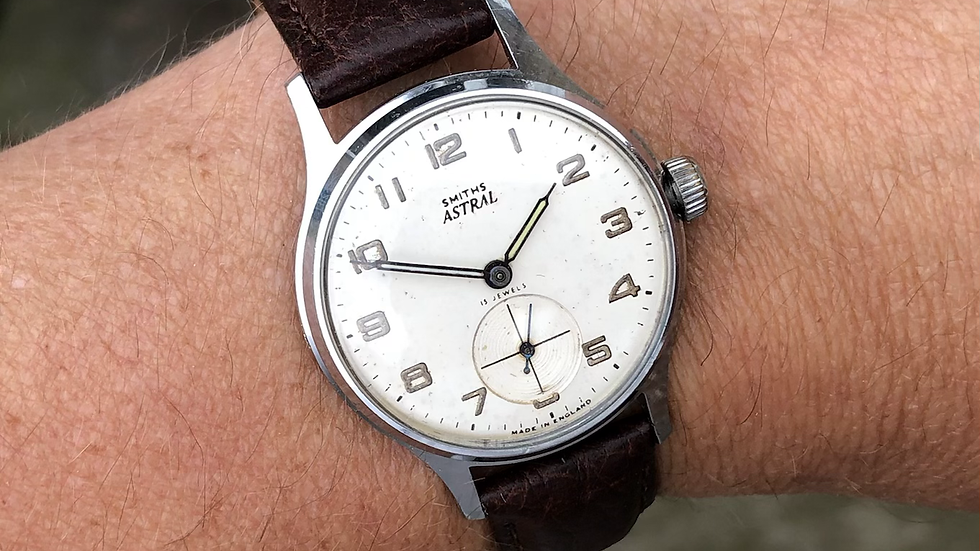 Smiths Astral 1961 Expedition Watch