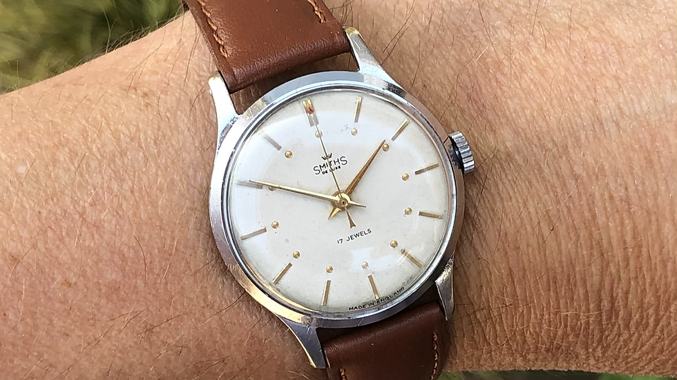 Smiths Deluxe A252 1954 Watch