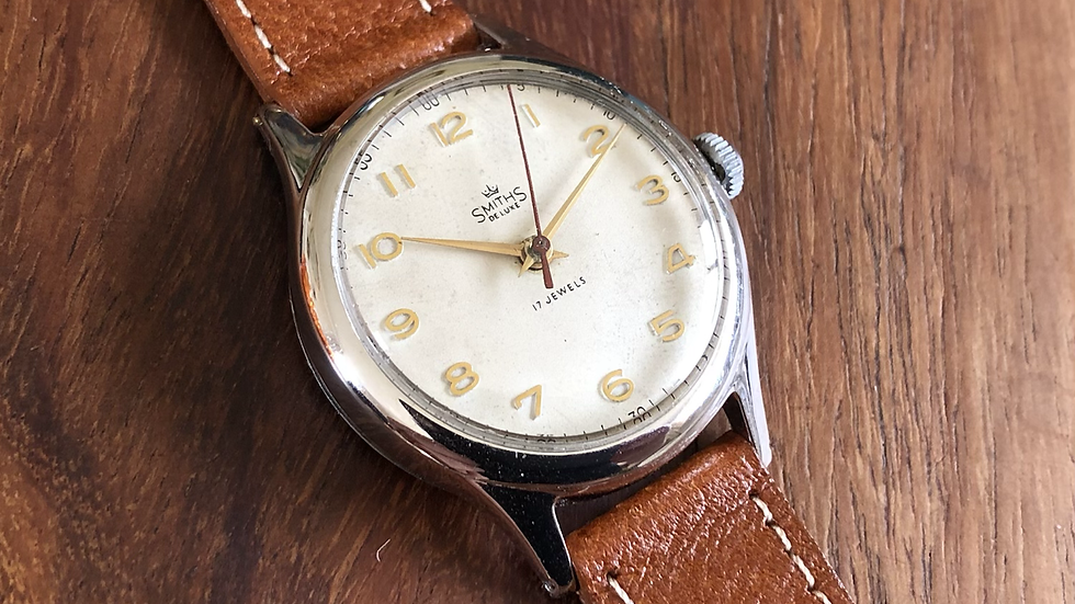 Smiths Deluxe A452 1956 Everest Range Watch