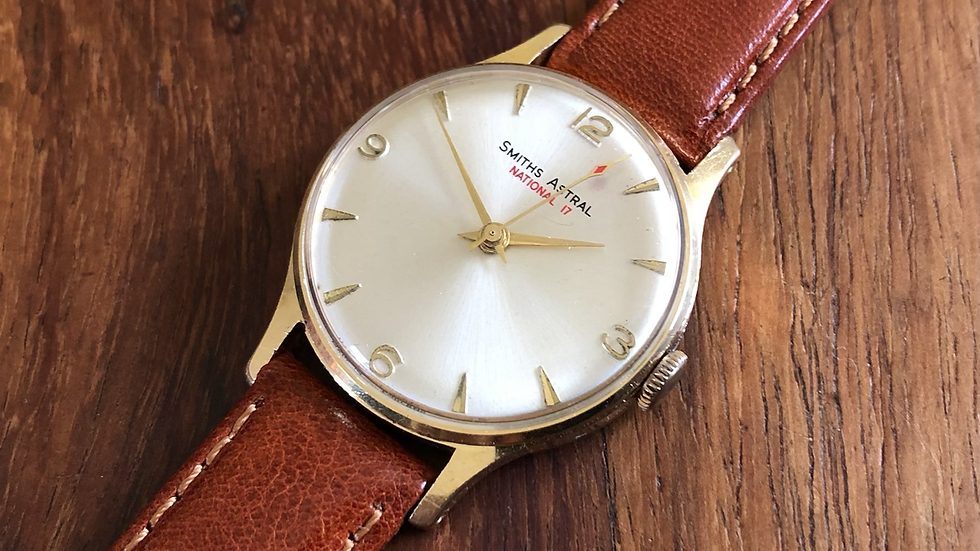 Smiths Astral 1966 National 17 Watch