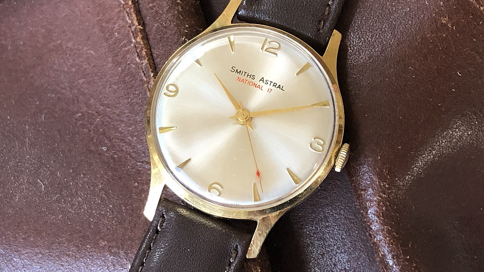 Smiths Astral 1968 National 17 Watch
