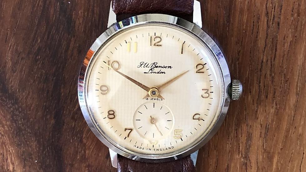 J W Benson/Smiths 1968 Watch