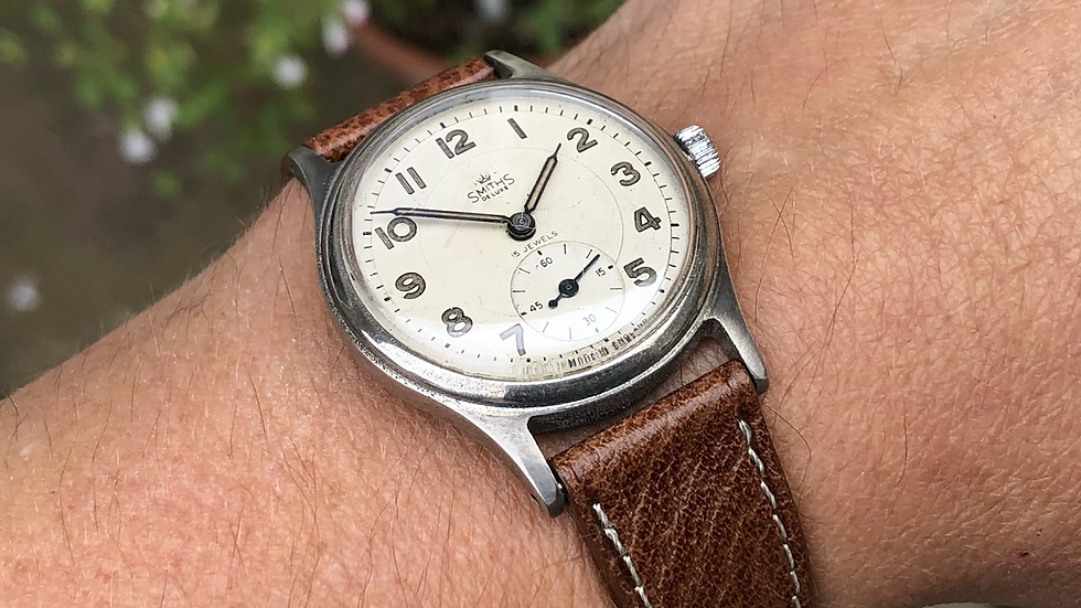 Smiths Deluxe A404 1954 Everest Range Watch