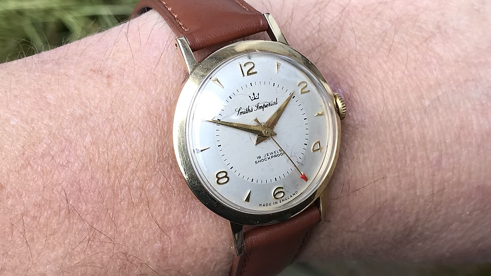 Smiths imperial 9ct gold 1958 Watch