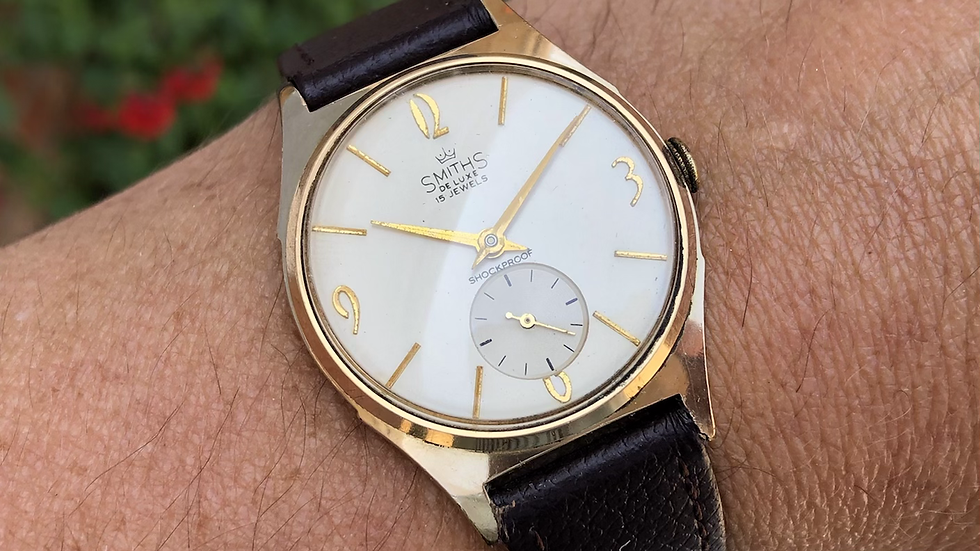 Smiths Deluxe A323 1960 Watch