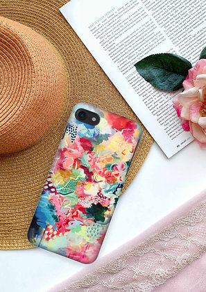 Seeking Sunset - iPhone Case