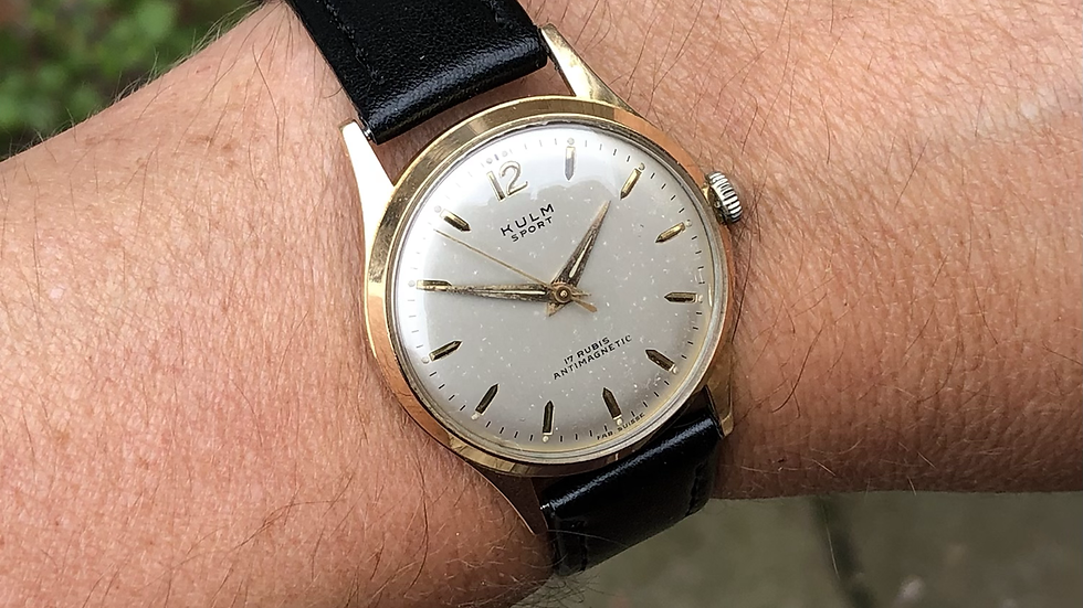 Kulm Sports 1950s Watch