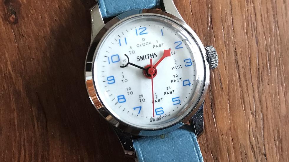 Smiths 1972 SB 1102 Trainer Watch