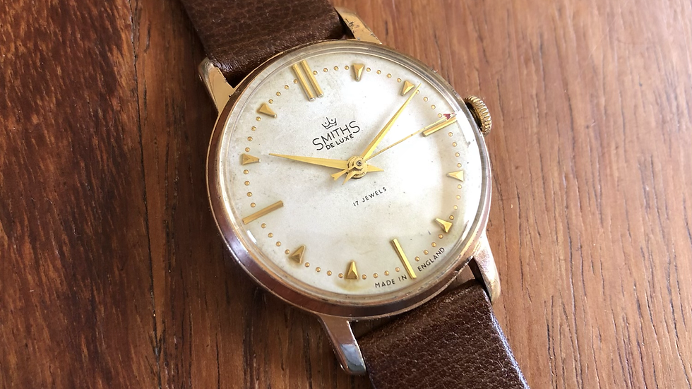 Smiths Deluxe A365 1966 Watch