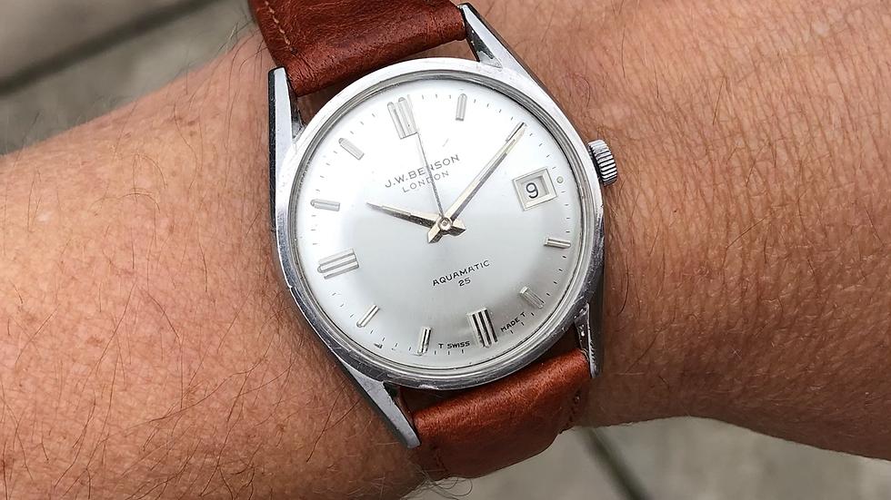 J W Benson Aquamatic Watch