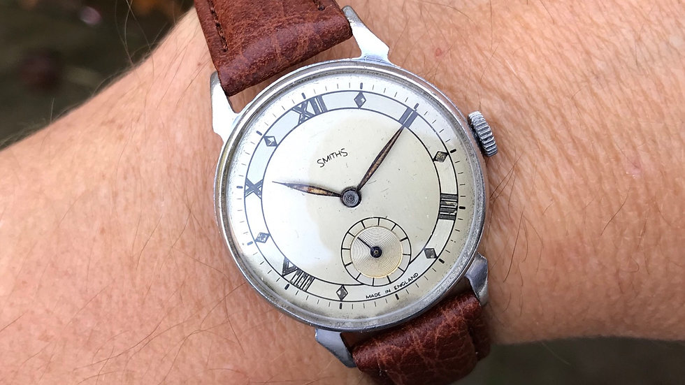 Smiths pre-Deluxe 1948 RG0605 Watch