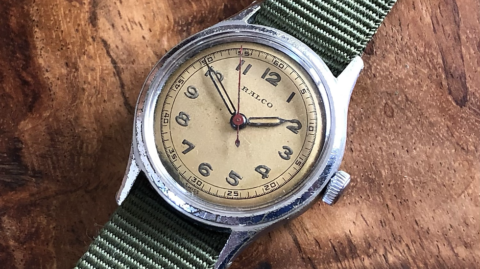 Ralco 1950s Military Style Watch