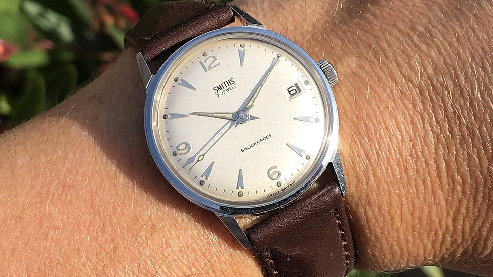 Smiths 1968 Calendar Watch