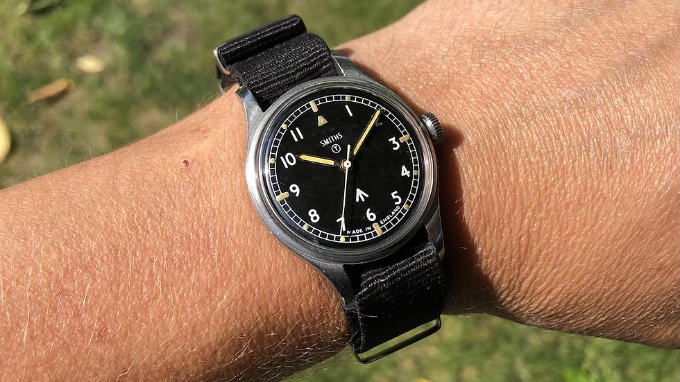 Smiths W10 1968 Military Watch