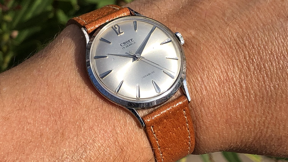 Croff 1960s Watch