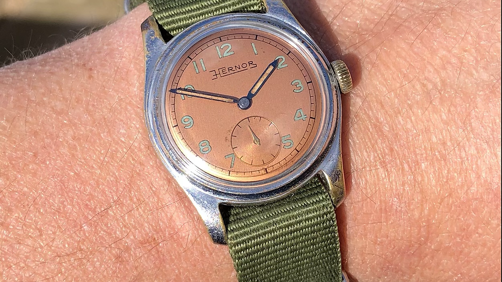 Hernor 1950s French Military Style Watch