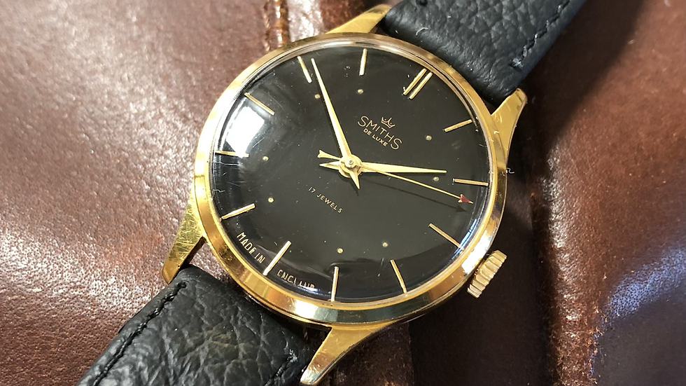Smiths Deluxe A358 1954 Watch