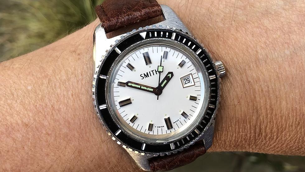 Smiths Divers 1977 Calendar Watch