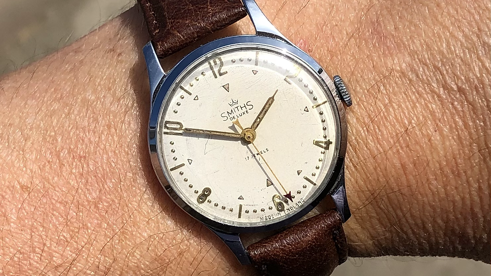 Smiths Deluxe A258 1953 Watch
