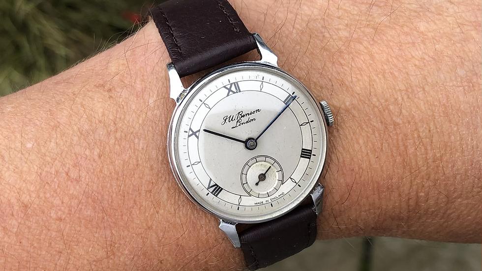 J W Benson/Smiths 1958 Watch