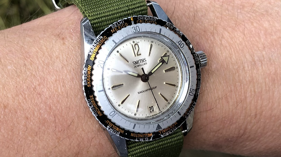 Smiths Divers 1971 WC.4113 'Worldtime' Watch