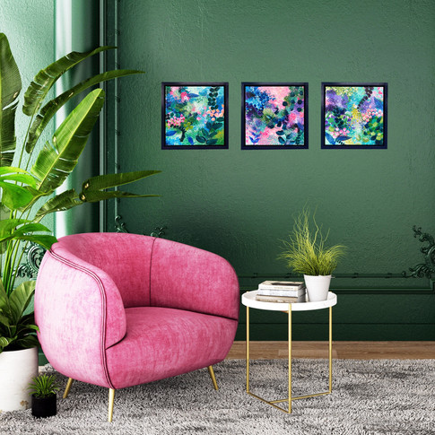 Floral Canvas Collection
