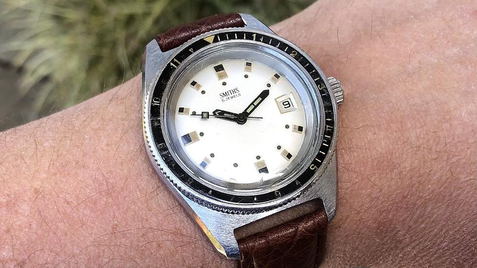 Smiths Divers 1972 Calendar Watch