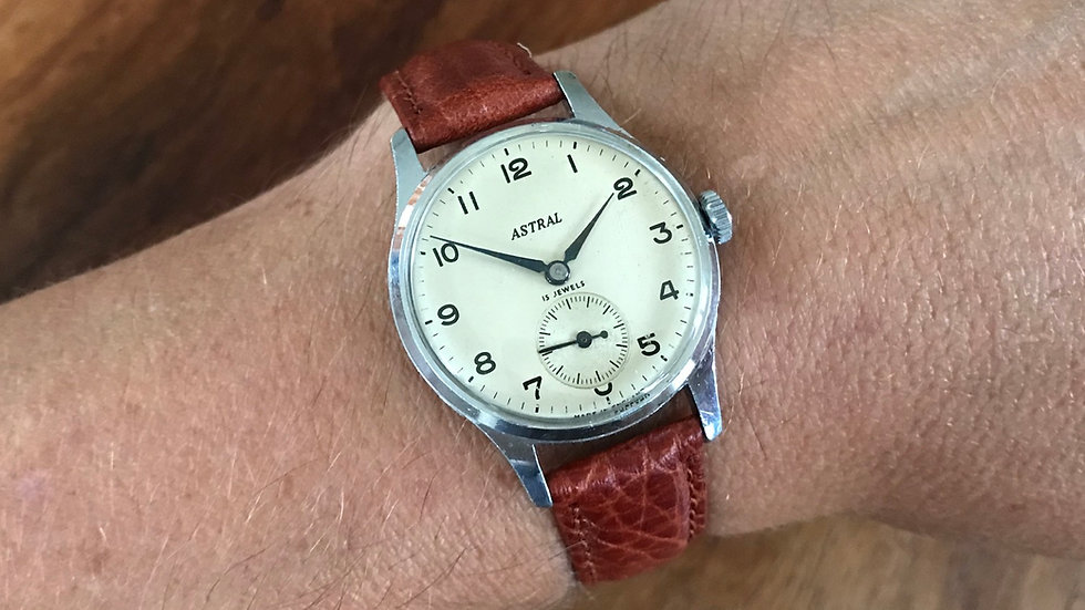 Smiths Astral 1957 rare Watch