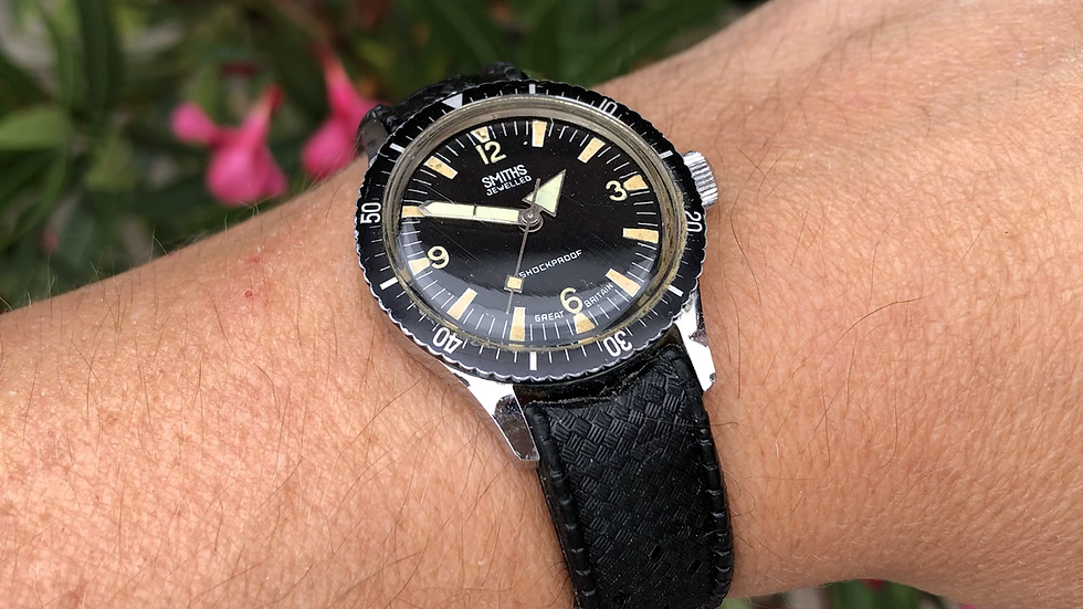 Smiths Divers 1972 WB.4103 Watch