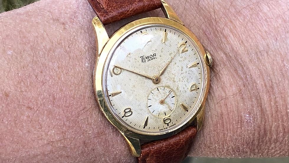 Timor 1950s Watch
