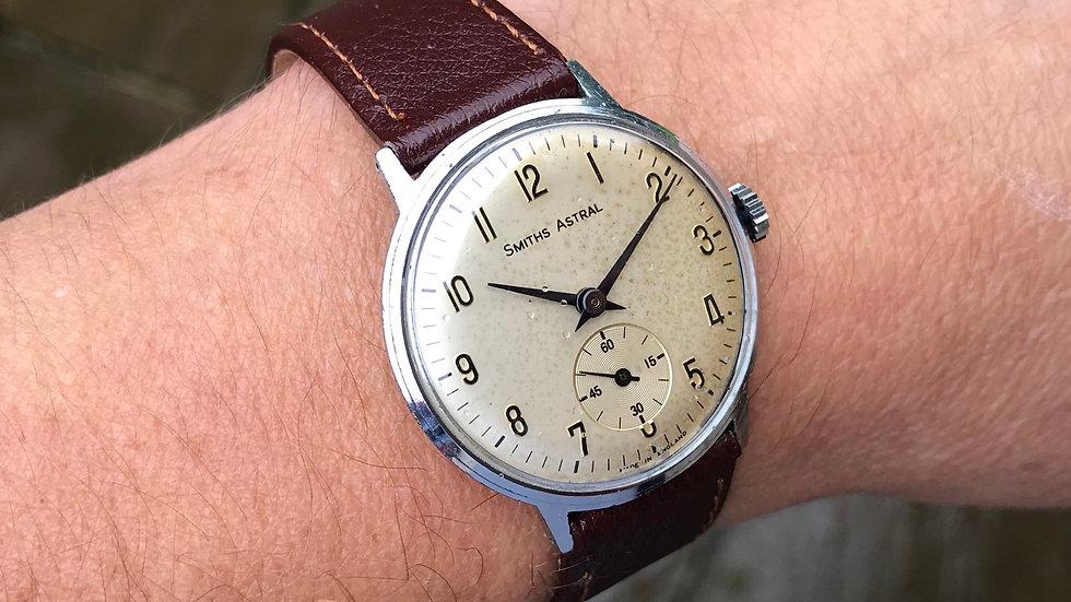 Smiths Astral 1968 Slimline Watch