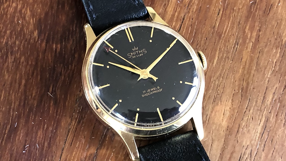 Smiths Deluxe A258 1961 Watch
