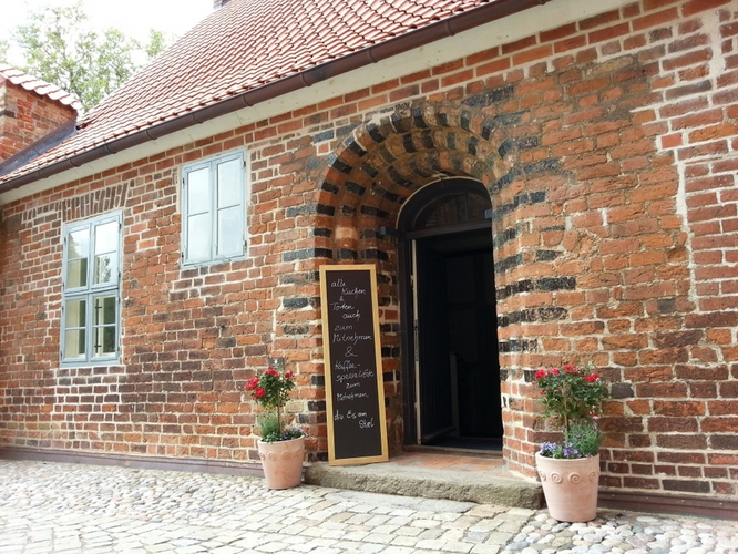 Café in der Bischofsherberge