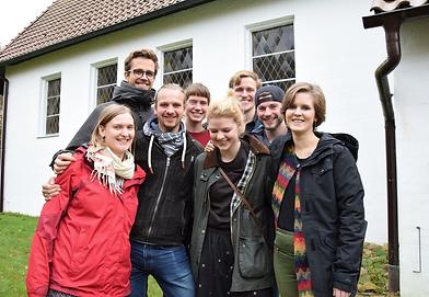 Studenten und Studentinnen der evangelischen Theologie