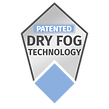 Patented Dry Fog Technology Badge