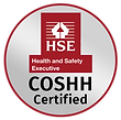 Pure Maintenance UK's HSE COSHH certification to showcase our health and safety compliance.