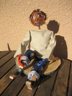 Marionnette Basile