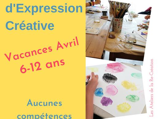 Stage Expression Créative- Vacances d'avril- 6-12 ans