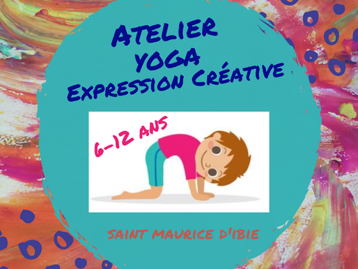 Atelier inédit Yoga & Expression Créative 6-12 ans