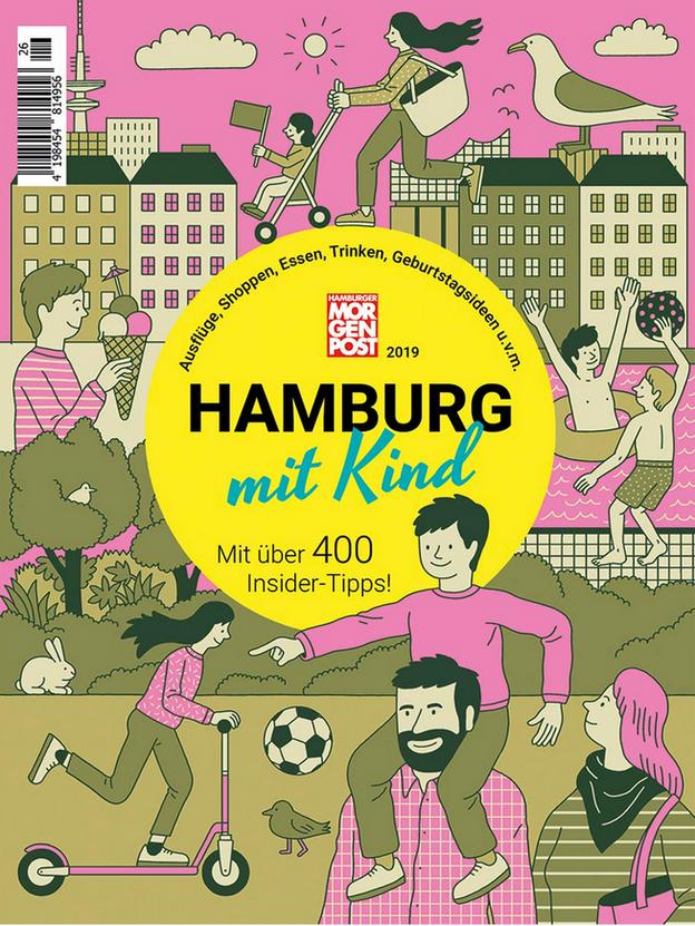 HAMBURG MIT KIND