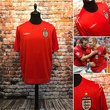 England 2004-06
