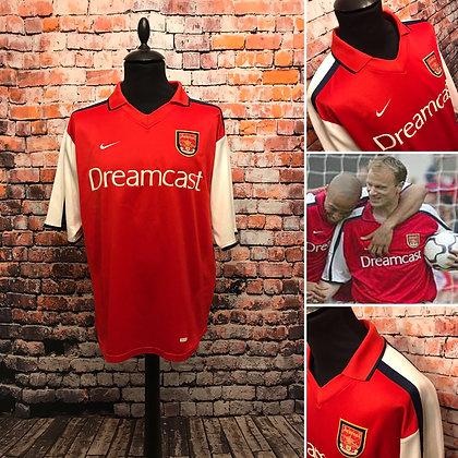 Arsenal 2000-02